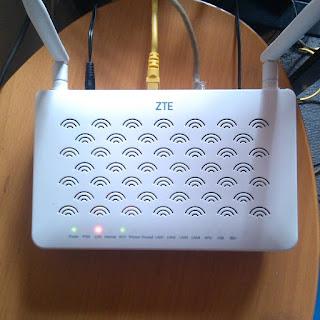 Cara Konfigurasi Modem Indihome ZTE F609 Menjadi Access Point