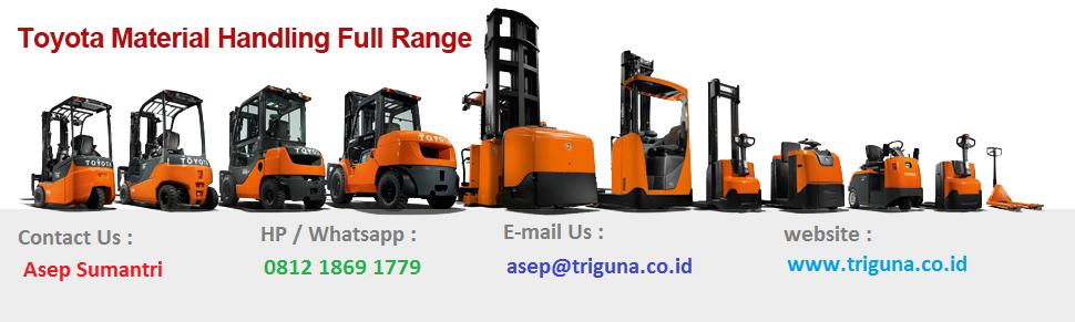Jual Forklift Second Medan