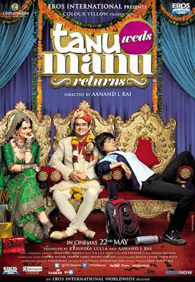 Tanu Weds Manu Returns (2015) Hindi 720p BluRay AC3 5.1 – 1.2GB