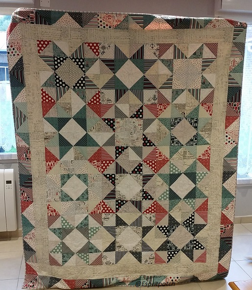 Espritpatch: The birthday quilt is finished and gifted