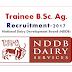 Trainee (B.Sc -Agriculture) Recruitment National Dairy Development Board (NDDB)-2017