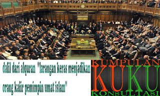 """dalil dari alquran """"larangan keras menjadikan orang kafir pemimpin umat islam"""""""