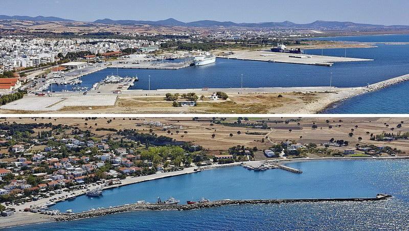 Διαχρονικές ευθύνες για τις βασικές ελλείψεις στα λιμάνια Αλεξανδρούπολης και Σαμοθράκης