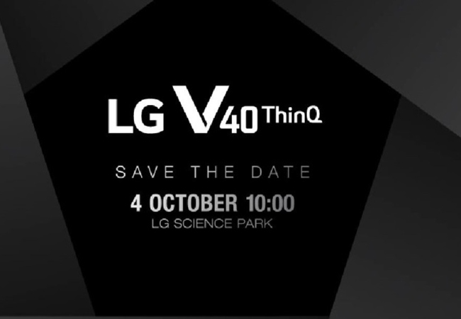 Tinuku LG takes on Samsung, Apple with V40 ThinkQ on Oct 3