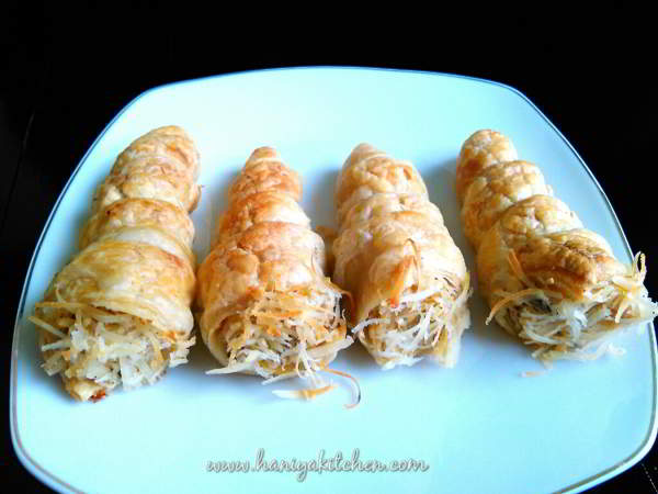Resep Banana Cheese Puff Pastry