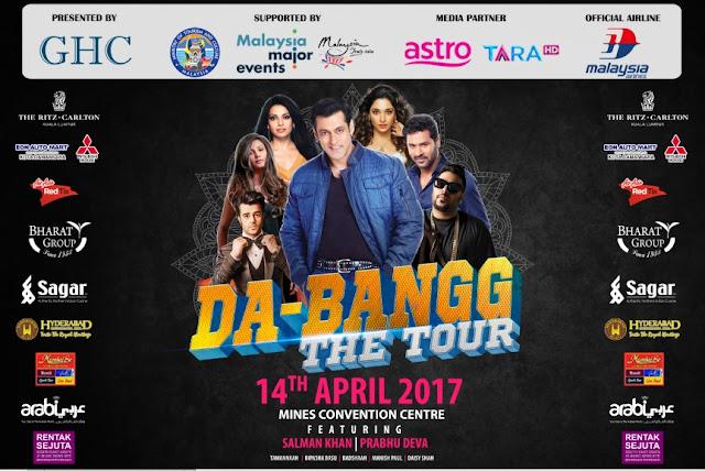 Da Bangg The Tour 2017 Salman Khan Live in Malaysia
