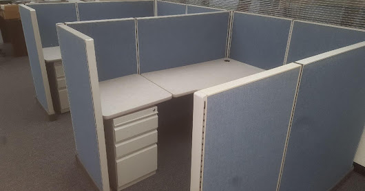 30- Herman Miller AO2 6'x5', midheight cubicles for $275 ea.