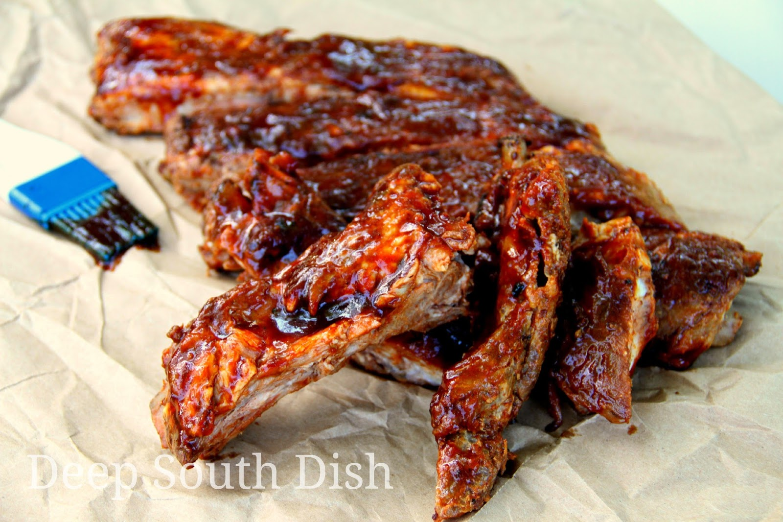 Deep south dish grilled pork spareribs or baby back ribs - Ribs on the grill recipe ...