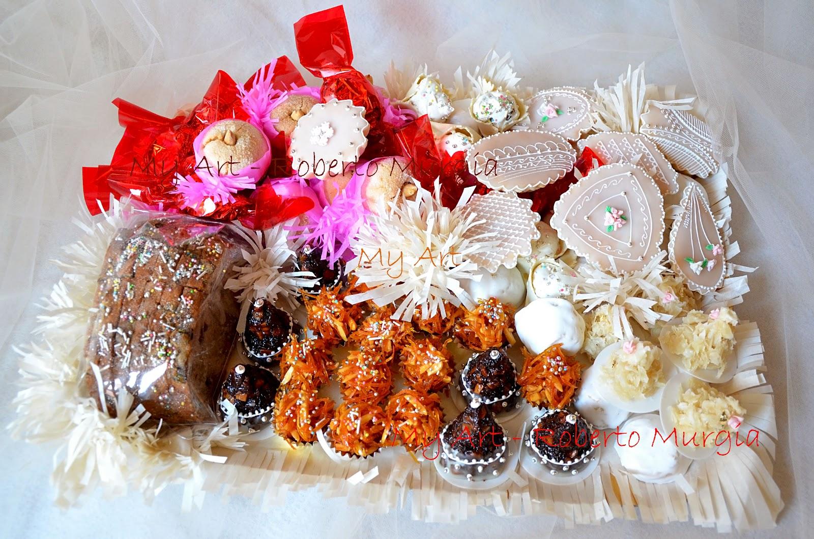 My art roberto murgia un vassoio di dolci sardi for Ricette dolci sardi