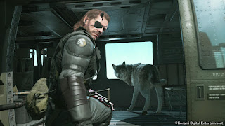 Metal Gears Solid V: The Phantom Pain dog