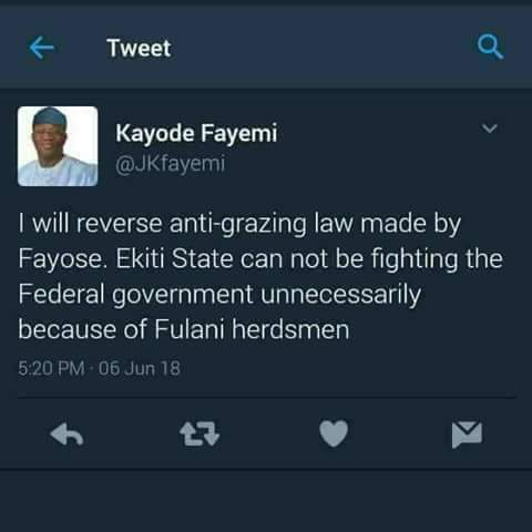 Ekiti Guber Election: Cowardly words of an indentured servant,a useful idiot and an accursed slave --FFK replies Fayemi Kayode