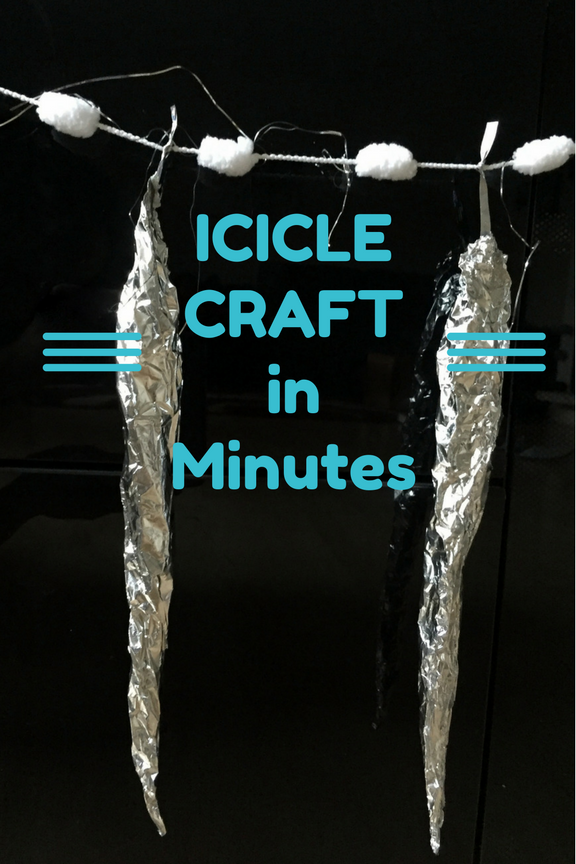 String of Icicles: Craft in Minutes