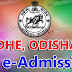 DHE Odisha: +3 e-Admission to Degree Colleges 2018-19 Apply Online Complete Process