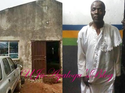See the white Garment Pastor accused of burying human parts in his church (Photos)
