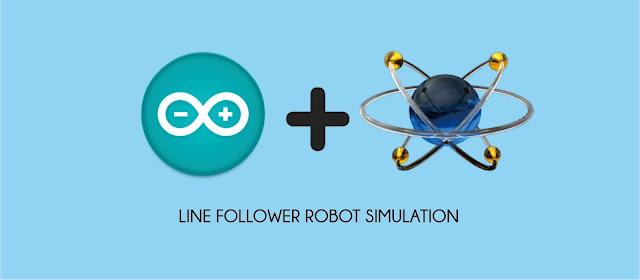 Simulasi Arduino Line Follower Robot di Proteus
