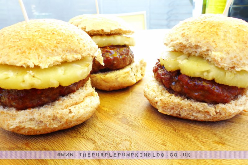 Budget #BBQ for a family of 4 for a tenner! with ASDA & #CBias: Hawaiian Sliders