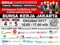 Bursa Kerja Jakarta Digelar 4-5 Oktober 2017 di Gedung Smesco