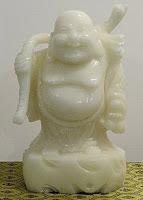 Jade Buddha Statue white