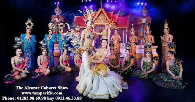 Show biểu diễn Alcazar Show ở tại Pattaya có phải lớn nhất ở Thái Lan ?