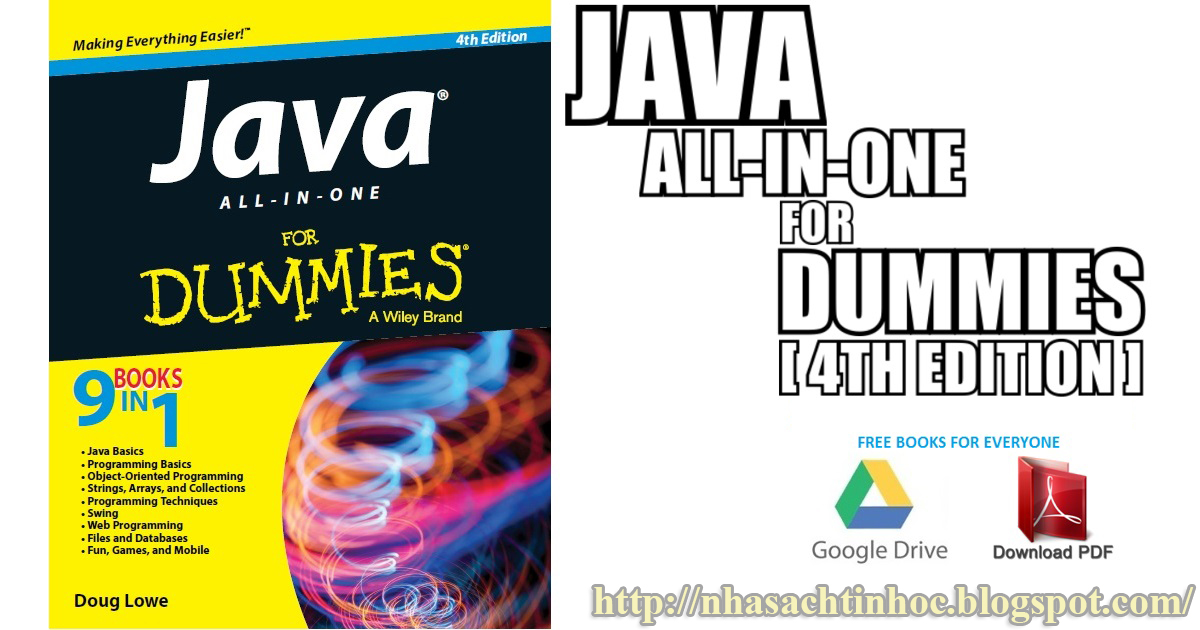 Java All In One For Dummies 4th Edition Pdf
