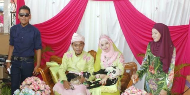 Pasangan Ini Membawa Serta Anak Kambing Dalam Prosesi Pernikahan, Alasannya Sungguh Mengejutkan