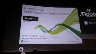 RootedCon 2017 -  Toni de la Fuente y How to survive to an attack in the cloud