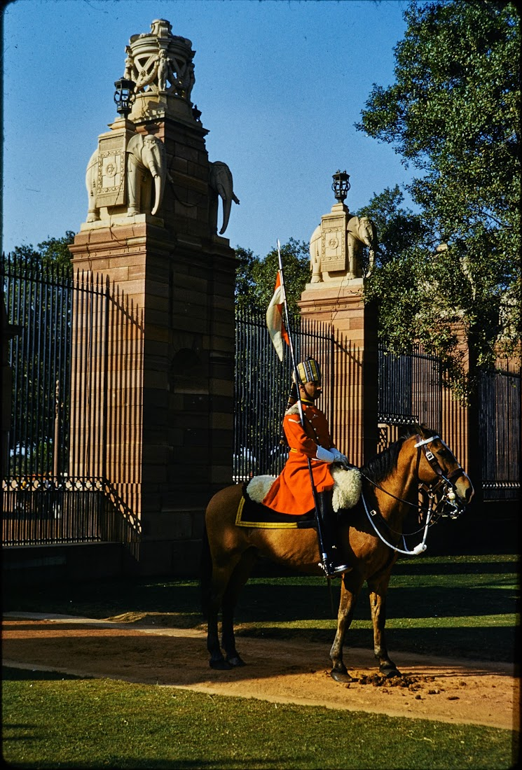 Rashtrapati Bhavan (Presidential Residence), New Delhi, India - Circa c1950-60's