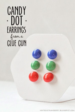 How to make glue gun beads and earrings the beading gem for Best glue for pearl jewelry