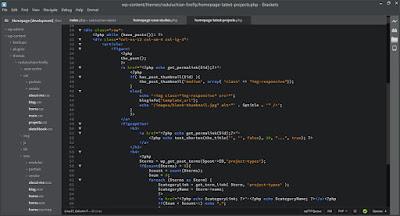 bracket code editor