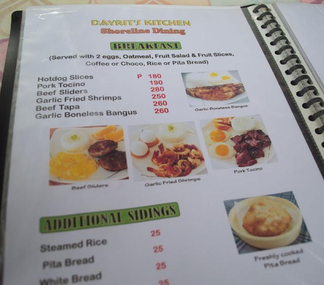 Dayrits Restaurant Subic