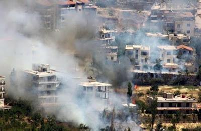 """قوات الأسد تعتدي مكرراً على إدلب و""""جرجناز"""" تلغي صلاة يوم الجمعة"""