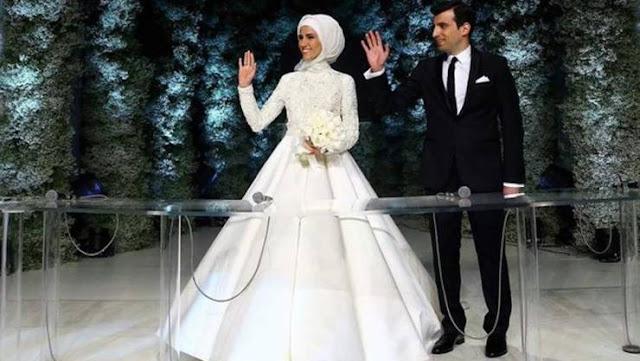 فيديو جديد من حفل زفاف ابنة اردوغان  اردوغان يذكر ابنته بوصية الرسول(ص) لابنته فاطمة الزهراء