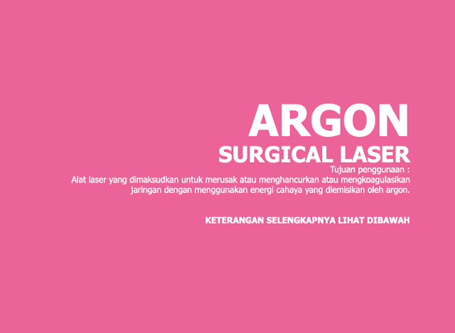 Argon Surgical Laser