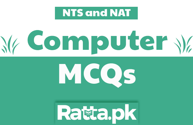 Computer Science MCQs with Answers for NTS and NAT Tests online pdf