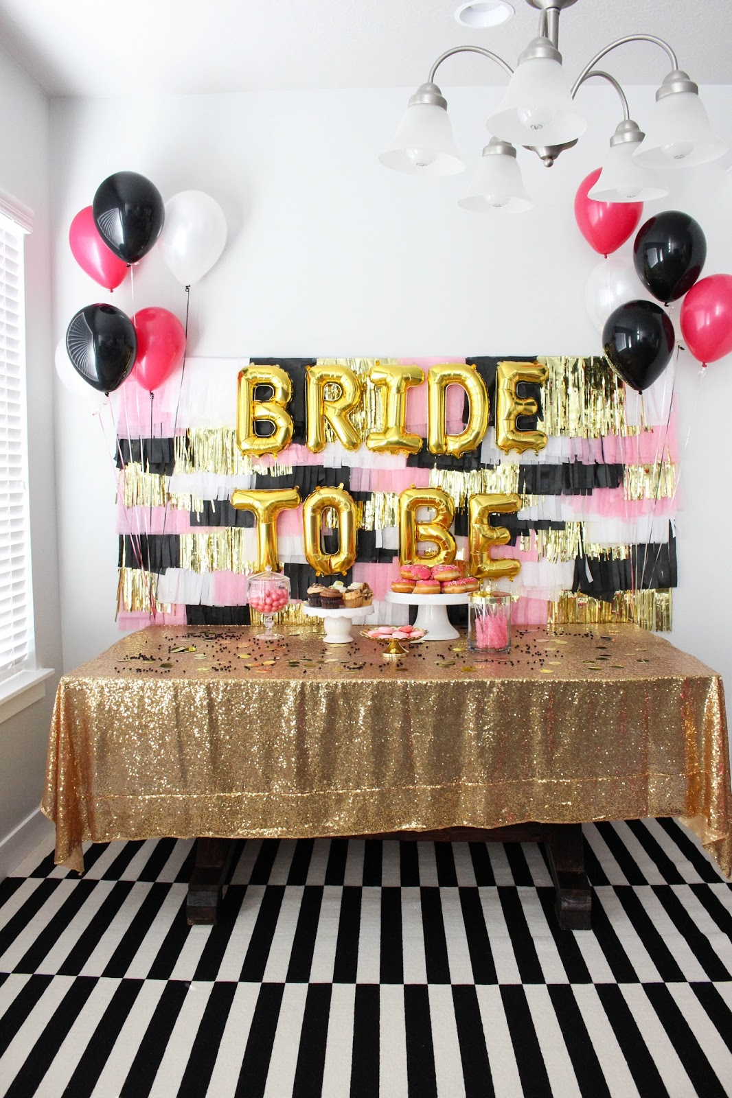 Black, Pink & White Bachelorette Party...