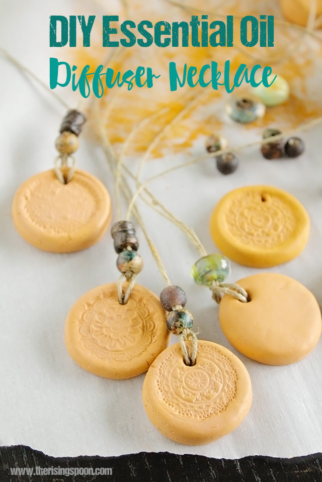 Best of 2015: DIY Clay Essential Oil Diffuser Necklace