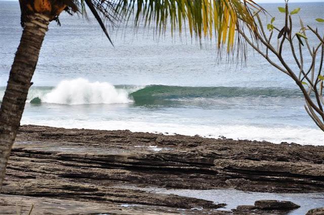 surfing playa rosada beach nicaragua