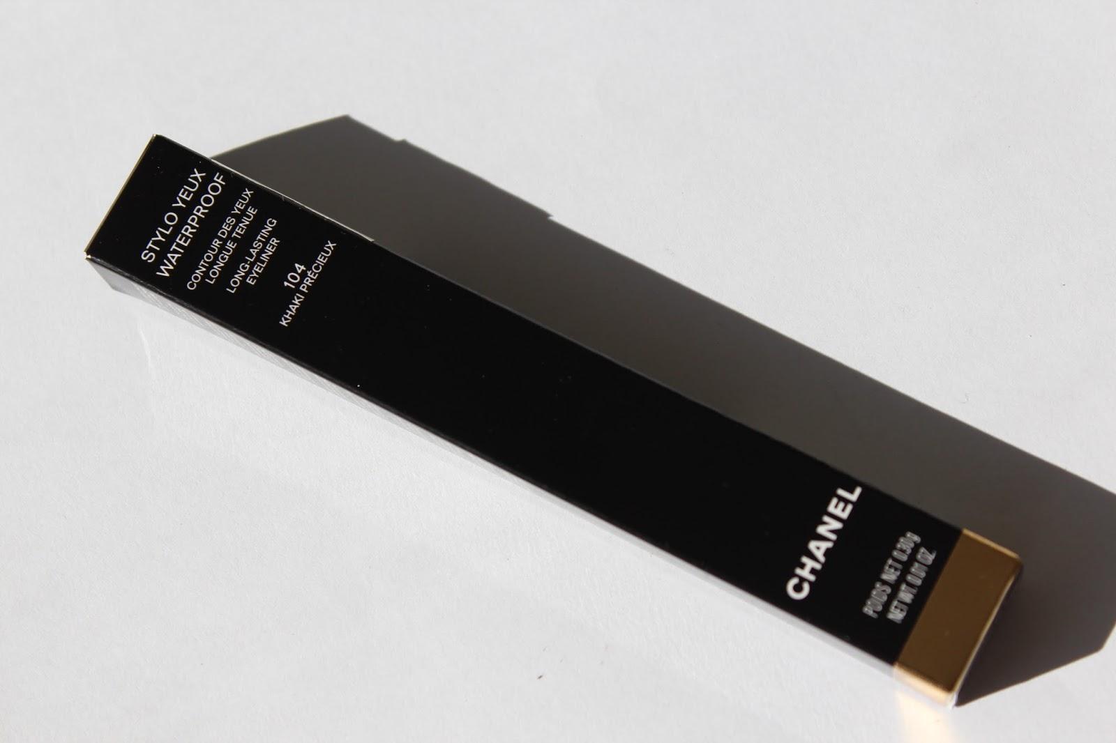Fall Favourites: Chanel Stylo Yeux Waterproof 104 Khaki