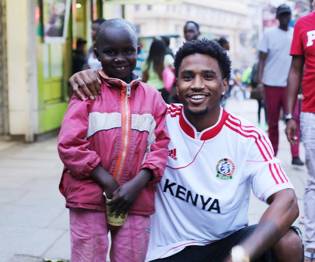 Trey Songz claps back at girl over $50 he gave to Kenyan child