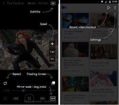 aplikasi permutar video android