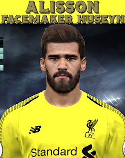 PES 2017 Faces Alisson Becker by Facemaker Huseyn