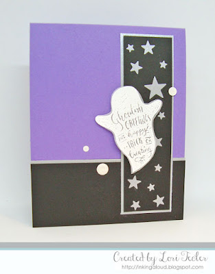 Ghoulish Greetings card-designed by Lori Tecler/Inking Aloud-stamps and dies from Lil' Inker Designs