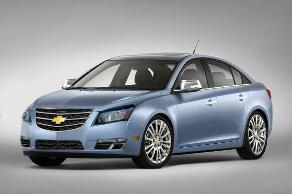 car in Chevrolet Cruze 2014