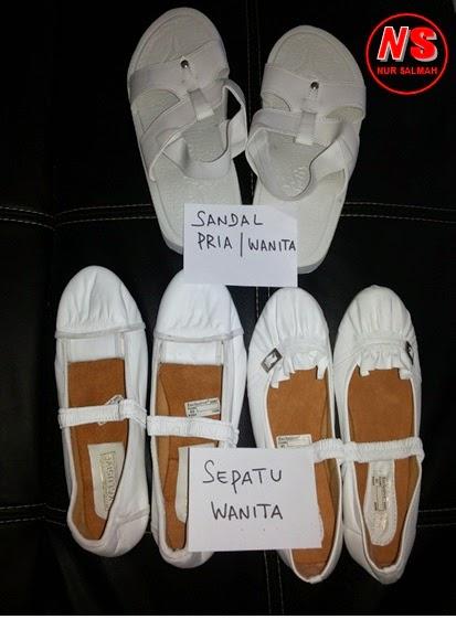 Sepatu Sandal Nur Salmah Online Perlengkapan Muslim Haji Dan Umroh