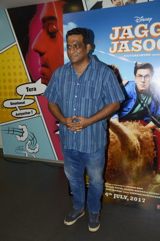 Ranbir Kapoor and Anurag Basu Promote Jagaa Jasoos