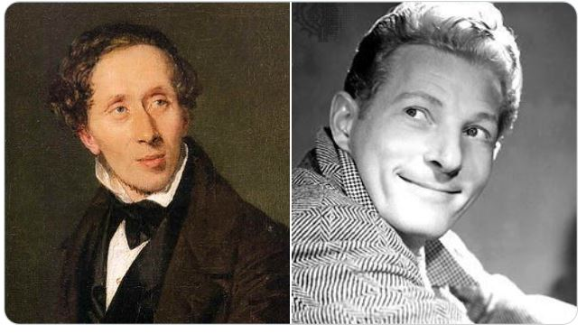 HANS CHRISTIAN ANDERSON AND DANNY KAYE