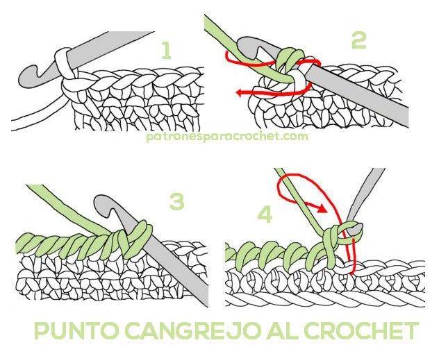 punto-cangrejo-crochet-paso-a-paso