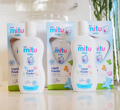 Launching Mitu Baby Powder