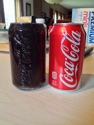 lata de coco-cola