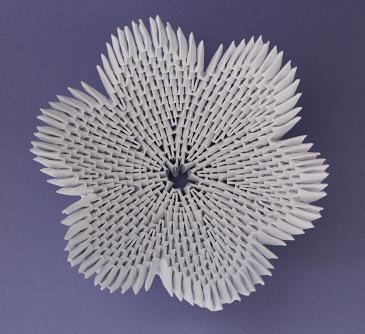 DIY-Basteltipp für eine 3D-Origami-Schale von Ars Vera